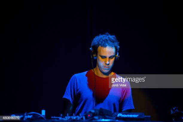 Four Tet performs on stage at Sonar 2014 at Sonar Club on June 14 2014 in Barcelona Spain