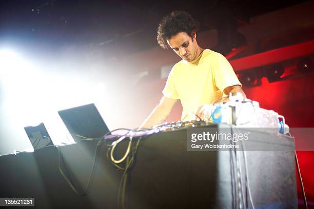 Four Tet performs on stage during ATP Nightmare Before Christmas at Butlins Holiday Centre on December 11 2011 in Minehead United Kingdom