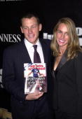 Four time Tour De France winner Lance Armstrong and his wife Kristin attend the Sports Illustrated Sportsman of the Year Award where he was honored...