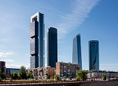 Four Towers business district Madrid