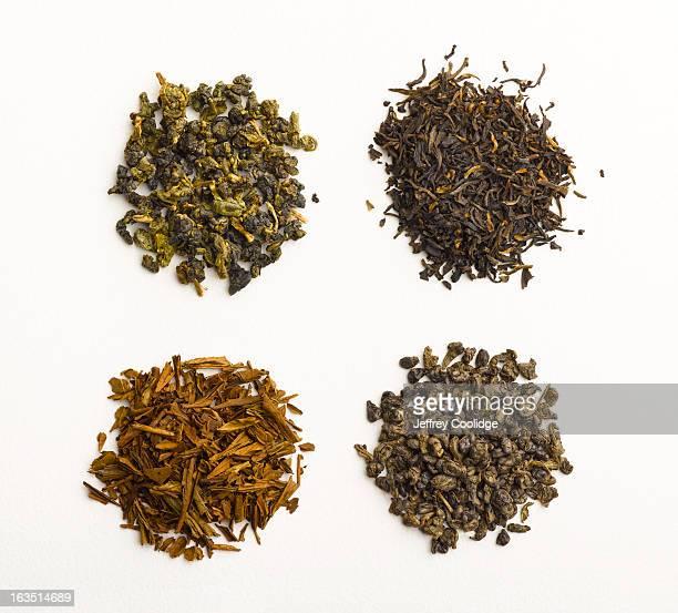 Four Varieties of Tea