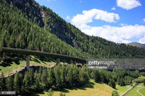 4-spurige Autobahn in Brennerpass