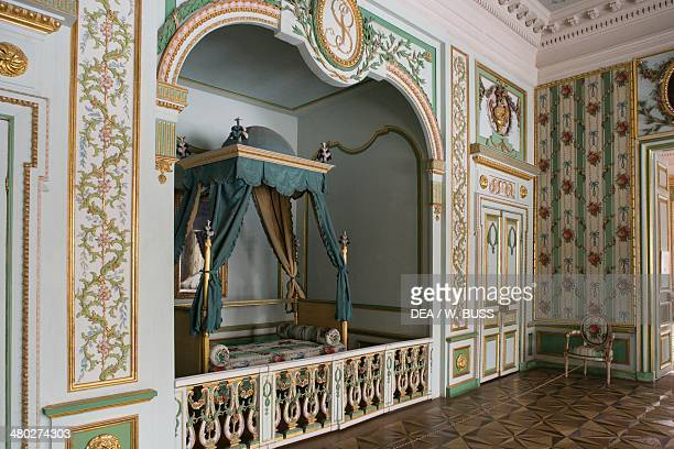 Fourposter bed Seremetev Palace 176977 designed by Karl Blank Kuskovo residence near Moscow Russia