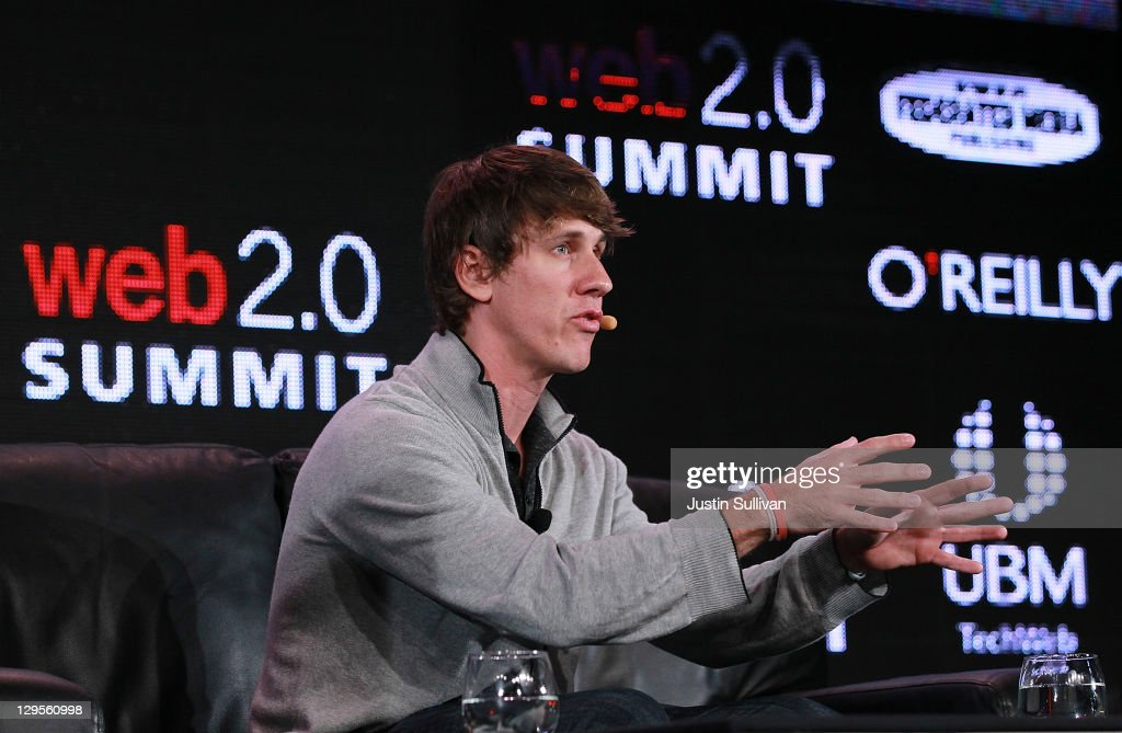 Foursquare co-founder Dennis Crowley speaks during the 2011 Web 2.0 Summit on October 18, 2011 in San Francisco, California. The 2011 Web 2.0 Summit features keynote addresses by Internet and Technology leaders and runs through Wednesday.