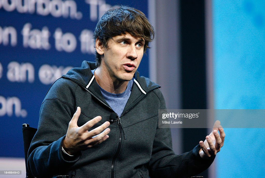 Foursquare co-founder <a gi-track='captionPersonalityLinkClicked' href=/galleries/search?phrase=Dennis+Crowley&family=editorial&specificpeople=6729326 ng-click='$event.stopPropagation()'>Dennis Crowley</a> speaks during the NikeFuel Forum at Spring Studios on October 15, 2013 in New York City.