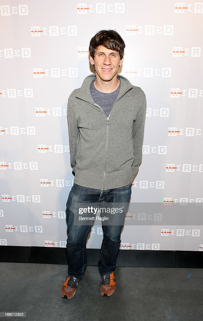 Foursquare founder <a gi-track='captionPersonalityLinkClicked' href=/galleries/search?phrase=Dennis+Crowley&family=editorial&specificpeople=6729326 ng-click='$event.stopPropagation()'>Dennis Crowley</a> attends the WIRED 20th Anniversary Party on May 6, 2013 in New York City.
