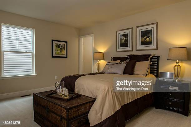 Fourth Bedroom in the Chevy Chase Model Home at Layhill Overlook on December 14 2014 in Aspen Hill Maryland