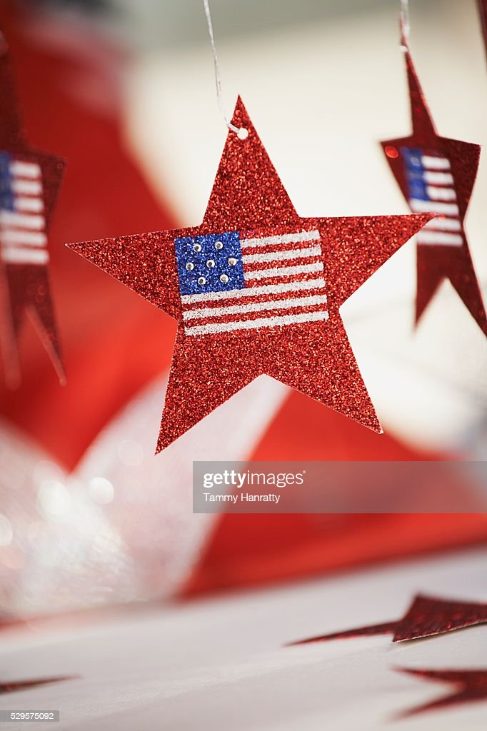 Fourth of July Decorations : Bildbanksbilder