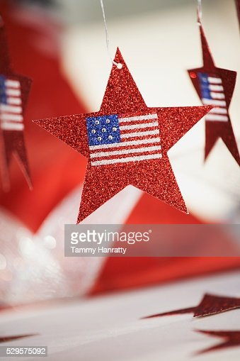 Fourth of July Decorations : Stockfoto