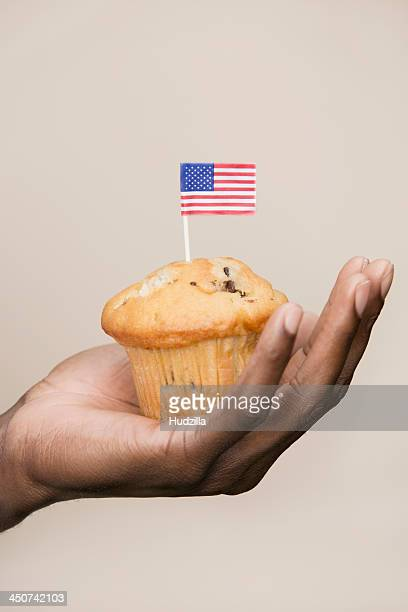Fourth of July muffin