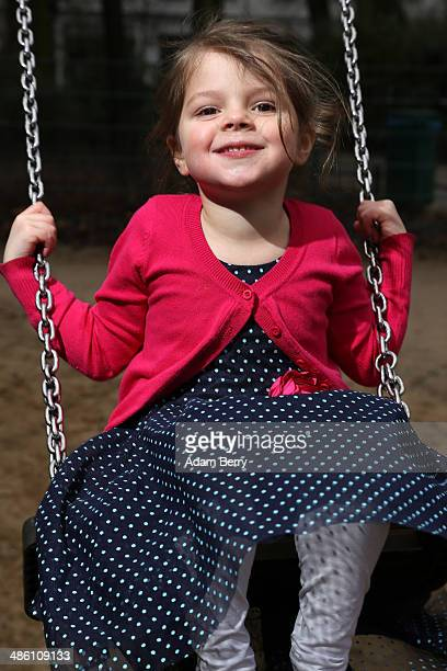 A fouryearold girl named Amine plays in a playground on December 29 2013 in Berlin Germany A new law went into effect in Germany as of August 1 2013...