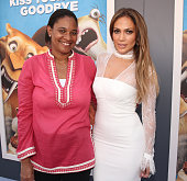 Fox Animation Studios President Vanessa Morrison and Jennifer Lopez attend a screening for Ice Age Collision Course at Zanuck Theater at 20th Century...