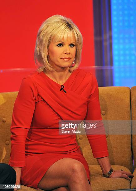 'Fox Friends' coanchor Gretchen Carlson attends 'Fox Friends' at FOX Studios on January 17 2011 in New York City