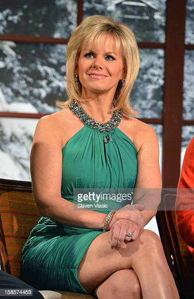 Fox Friends cohost Gretchen Carlson attends Fox Friends Christmas Special at FOX Studios on December 6 2012 in New York City