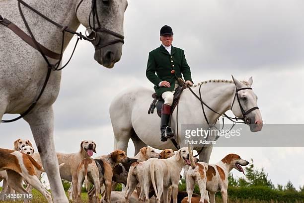 Fox Hunting, Horseman & Hounds, England