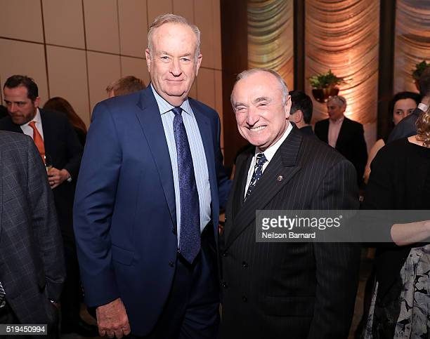 Fox News anchor Bill O'Reilly and New York City Police Commissioner William Bratton attend The Hollywood Reporter's 5th Annual 35 Most Powerful...