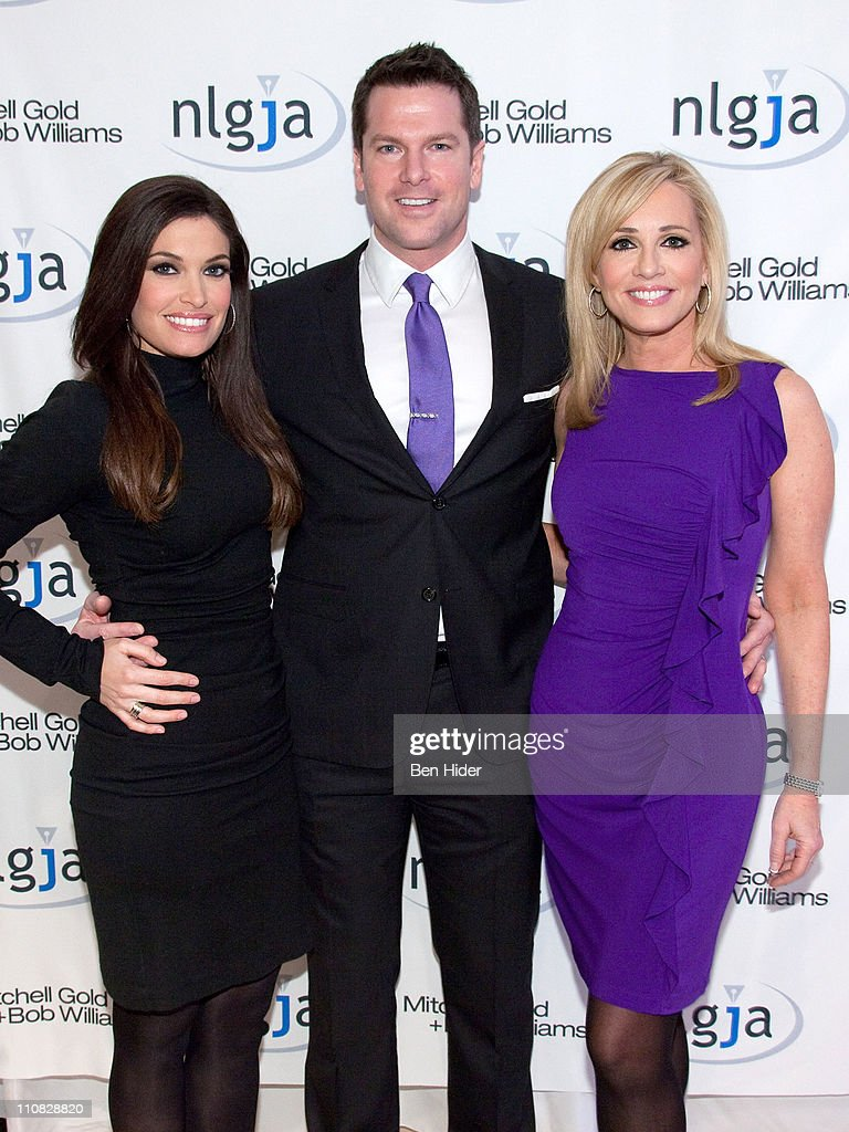 Fox news anchor Kimberly Guilfoyle, Thomas Roberts and Jamie Colby attend the National Lesbian & gay Journalists Association 16th Annual New York benefit at Mitchell Gold & Bob Williams SoHo Store on March 24, 2011 in New York City.