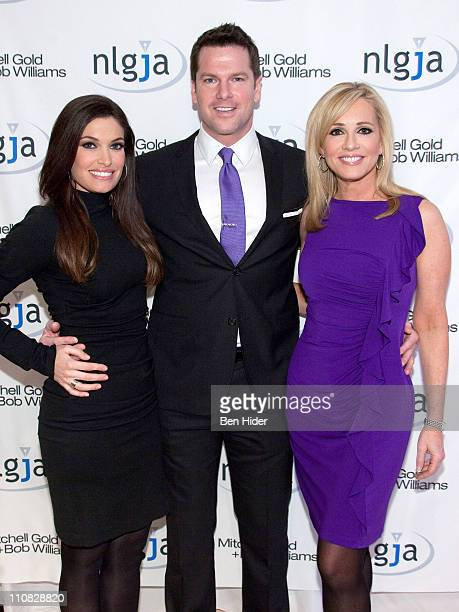 Fox news anchor Kimberly Guilfoyle Thomas Roberts and Jamie Colby attend the National Lesbian gay Journalists Association 16th Annual New York...