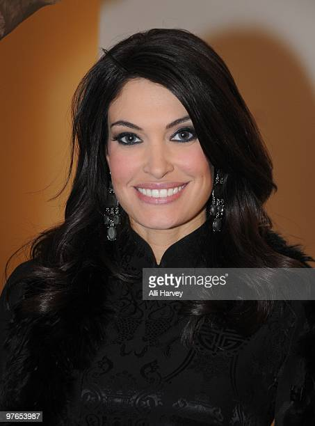 Fox News Channel host Kimberly Guilfoyle attends the opening of Lies Maculan's popup art installation 'The Dream Shop' on March 11 2010 in New York...