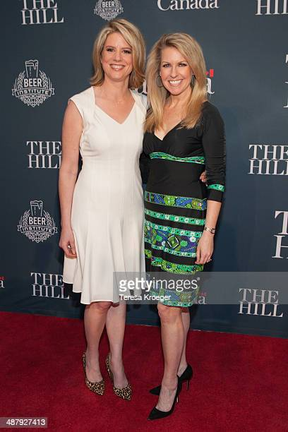 Fox News Contributors Kirsten Powers and Monica Crowley attend The Hill's and Entertainment Tonight's celebration of the 100th White House...