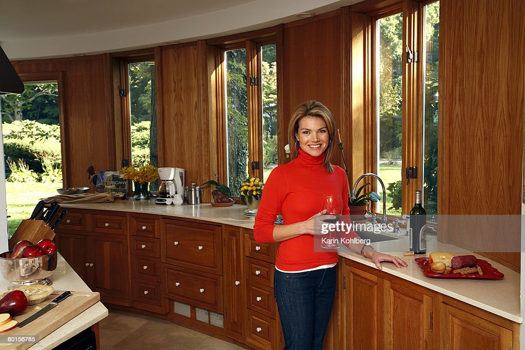 Fox news host Heather Nauert is photographed with her husband Scott at their home on the north shore of Long Island for Page Six Magazine.