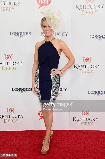 Fox News reporter Megyn Kelly attends the 142nd Kentucky Derby at Churchill Downs on May 07 2016 in Louisville Kentucky