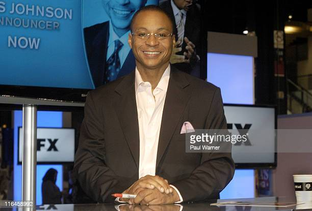 Fox Sports basketball anchor Gus Johnson attends the Cable Show 2011 at McCormick Place on June 15 2011 in Chicago Illinois