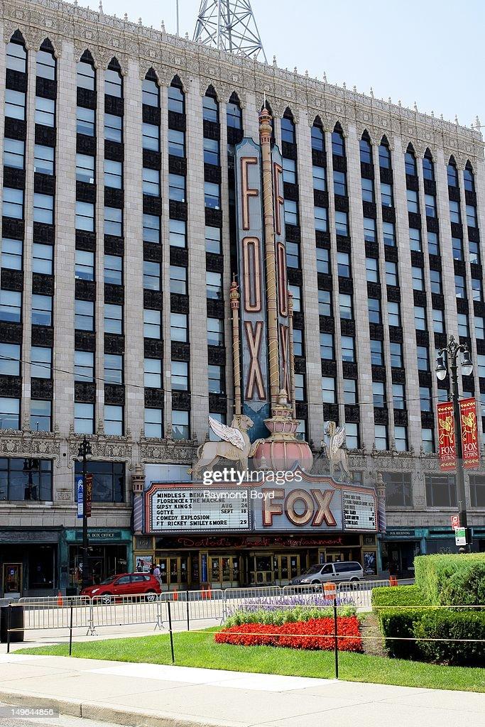 Fox Theatre in Detroit Michigan on JULY 21 2012