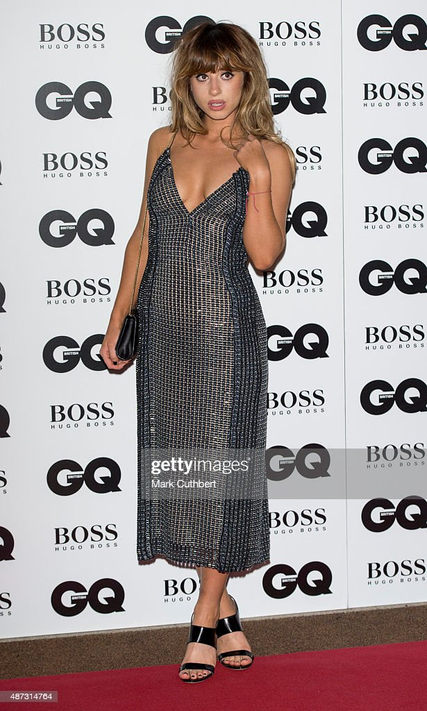 Foxes attends the GQ Men of the Year Awards at The Royal Opera House on September 8, 2015 in London, England.