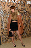Foxes attends the launch of Coach at Selfridges hosted by Stuart Vevers at Selfridges on September 18 2015 in London England