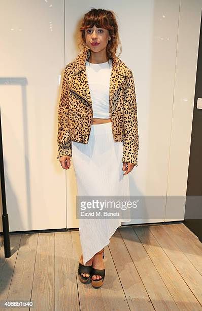 Foxes attends the McQ Spitalfields launch on November 26 2015 in London England
