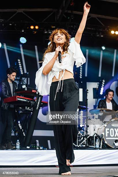 Foxes performs at the British Summer Time in Hyde Park on June 21 2015 in London United Kingdom