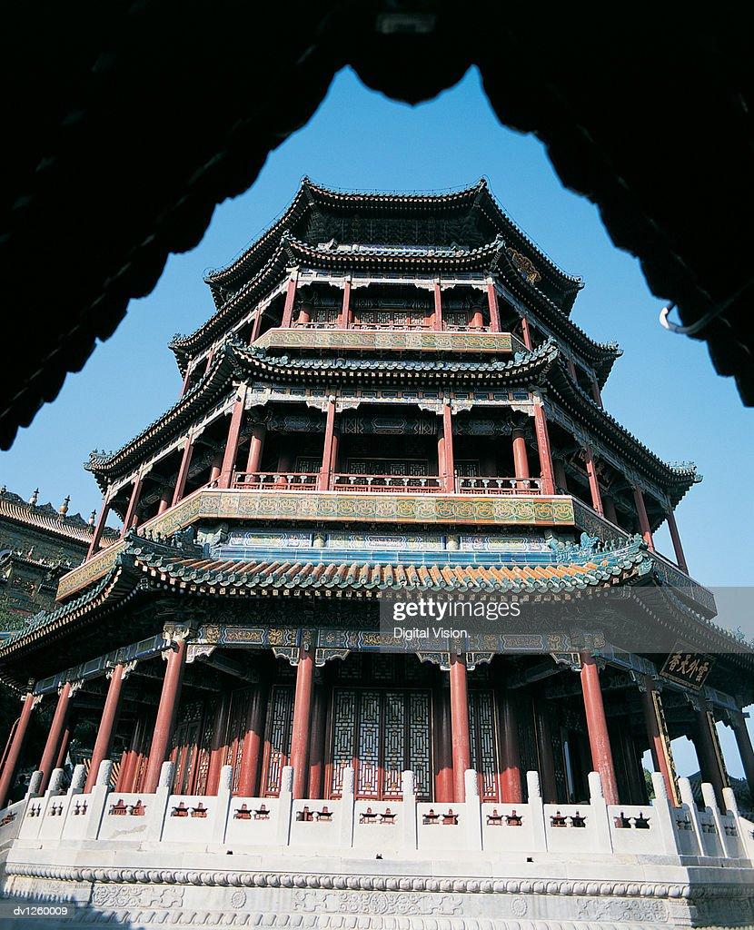 Foxiang Pavilion, Summer Pavilion, Beijing, China