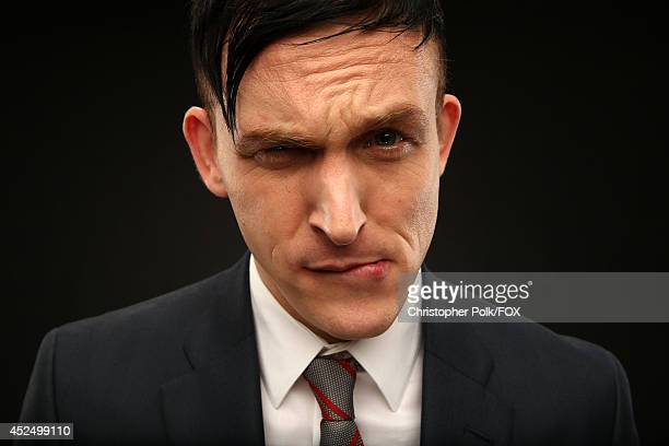 Fox's 'Gotham' actor Robin Lord Taylor poses for a portrait during Fox's 2014 Summer TCA Tour at The Beverly Hilton Hotel on July 20 2014 in Beverly...