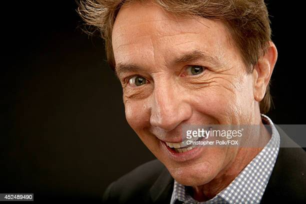 Fox's 'Mulaney' actor Martin Short poses for a portrait during Fox's 2014 Summer TCA Tour at The Beverly Hilton Hotel on July 20 2014 in Beverly...