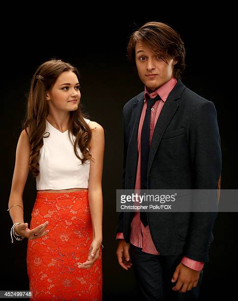 Fox's 'Red Band Society' actors Ciara Bravo and Nolan Sotillo pose for a portrait during Fox's 2014 Summer TCA Tour at The Beverly Hilton Hotel on...