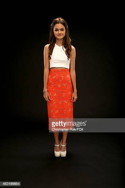 Fox's 'Red Band Society' actress Ciara Bravo poses for a portrait during Fox's 2014 Summer TCA Tour at The Beverly Hilton Hotel on July 20 2014 in...