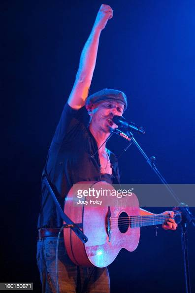 Foy Vance performs in concert at the Murat Egyptian Room on January 26 2013 in Indianapolis Indiana