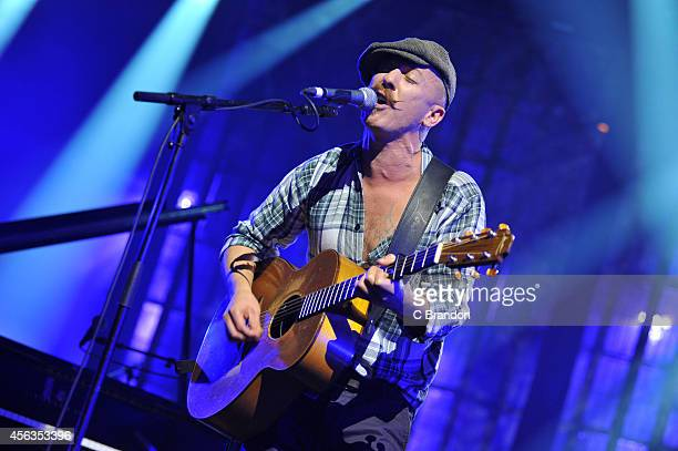 Foy Vance performs on stage during the iTunes Festival at The Roundhouse on September 29 2014 in London United Kingdom