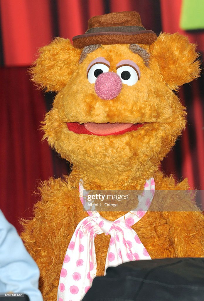 Fozzy Bear arrives for 'The Muppets' Los Angeles Premiere held at the El Capitan Theatre on November 12, 2011 in Hollywood, California.