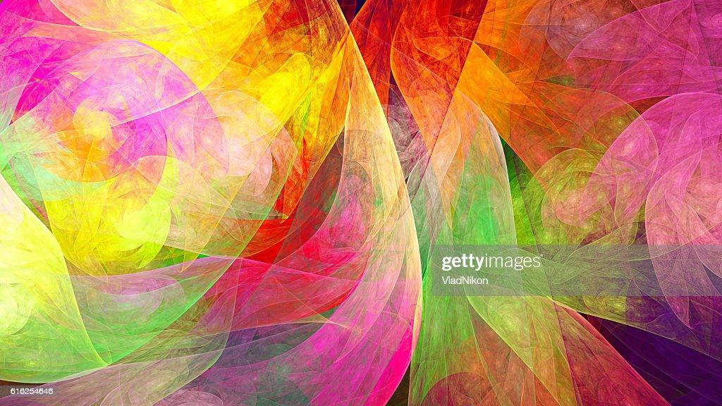 Fractal abstract pattern. : Foto de stock