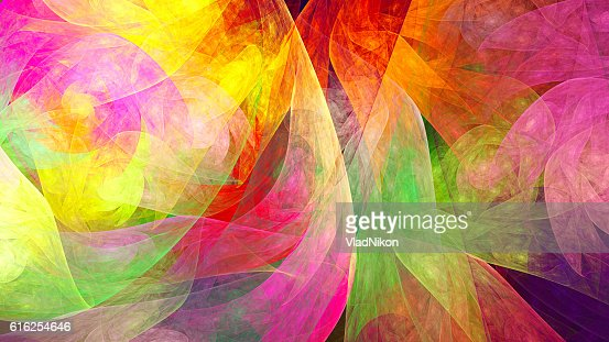 Fractal abstract pattern. : Stock Photo