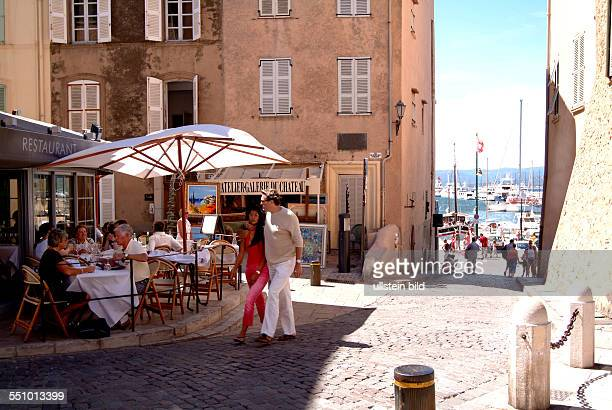 From the idyllischen fishing village to the meeting place jet set changed itself StTropez to the Cote d'Azur