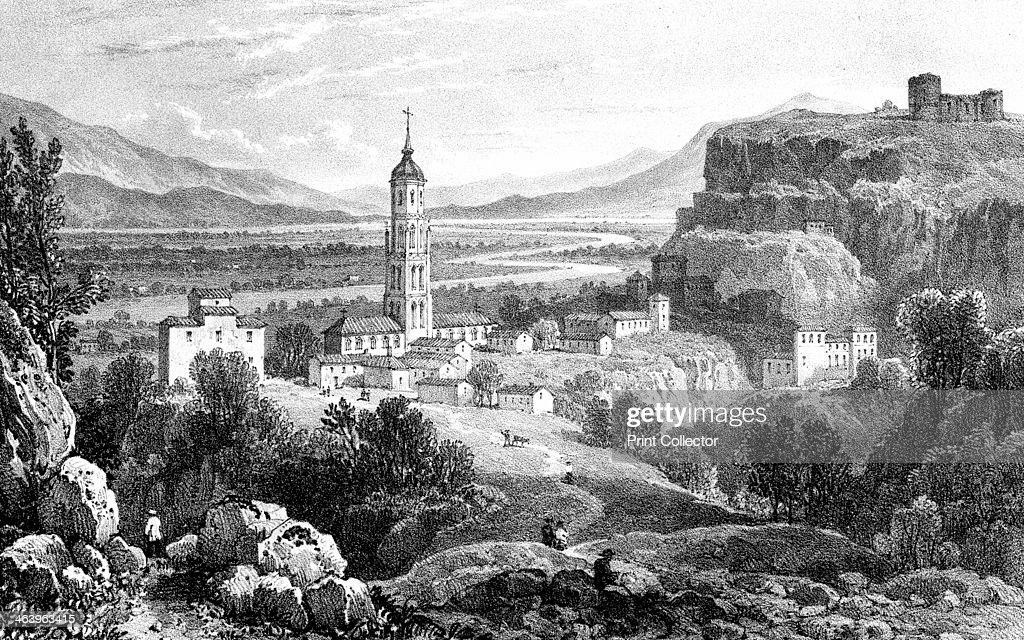 Fraga Spain  city pictures gallery : Fraga, Spain, 1823.Artist: James Duffield Harding