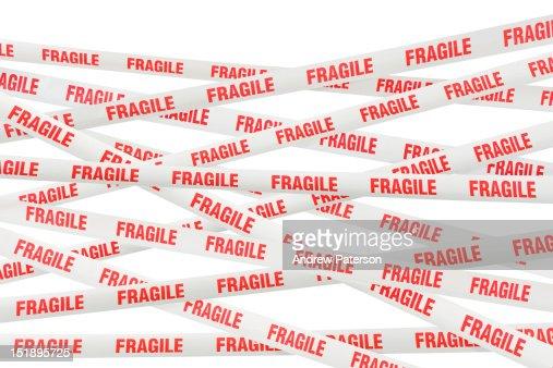 Fragile tape : Stockfoto