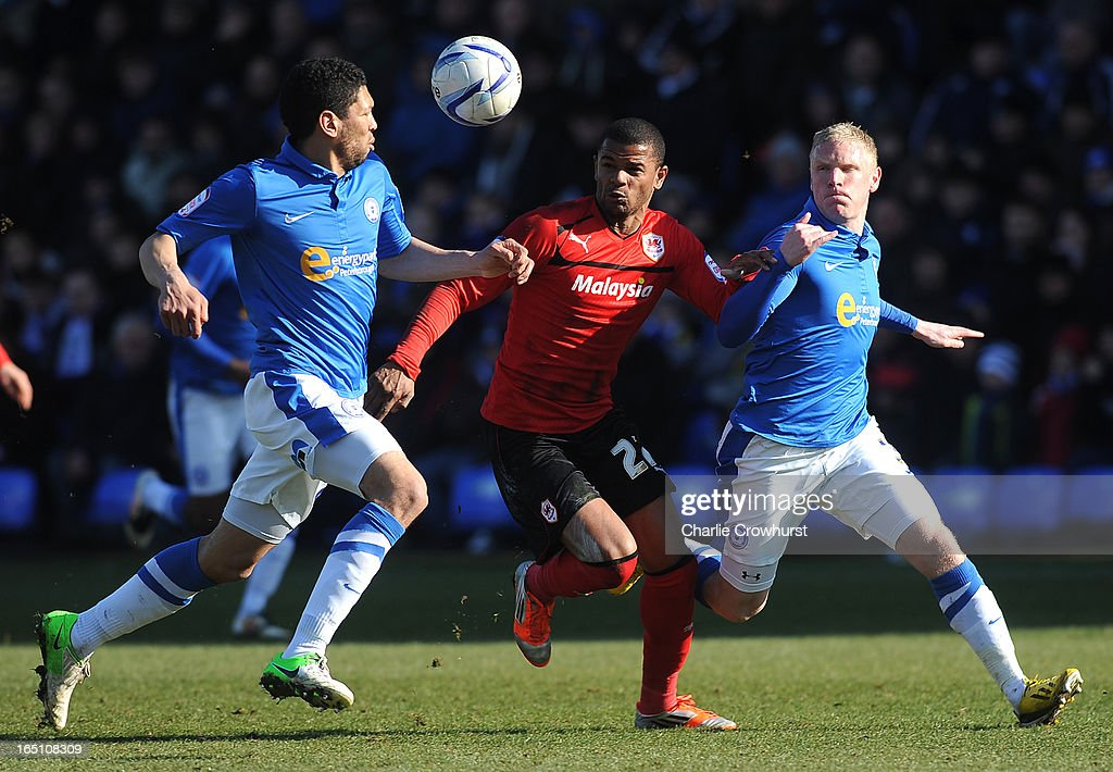 <a gi-track='captionPersonalityLinkClicked' href=/galleries/search?phrase=Fraizer+Campbell&family=editorial&specificpeople=2107990 ng-click='$event.stopPropagation()'>Fraizer Campbell</a> of Cardiff City attacks during the npower Championship match between Peterborough United and Cardiff City at London Road on March 30, 2013 in Peterborough, England,