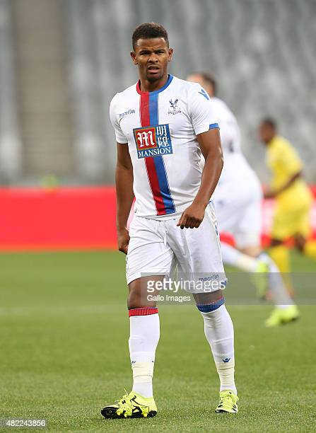 Fraizer Campbell of Crystal Palace during the 2015 Cape Town Cup match between SuperSport United and Crystal Palace FC at Cape Town Stadium on July...