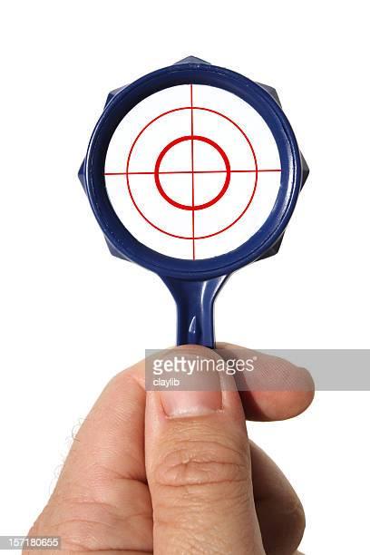 frame for targeting