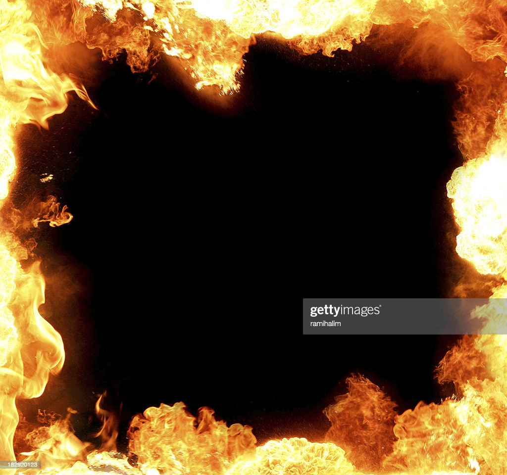 frame made of flame