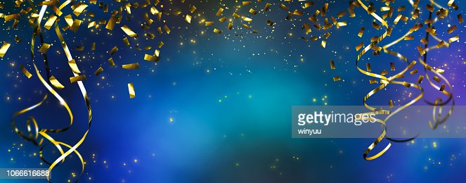frame of beautiful party decoration : Foto de stock